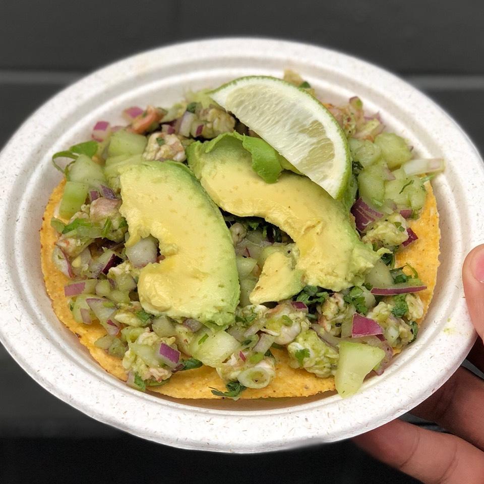 Shrimp Ceviche at Los Mariscos on #foodmento http://foodmento.com/place/10923