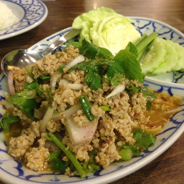 Pork Larb at E-Sarn Thai Cuisine on #foodmento http://foodmento.com/place/10