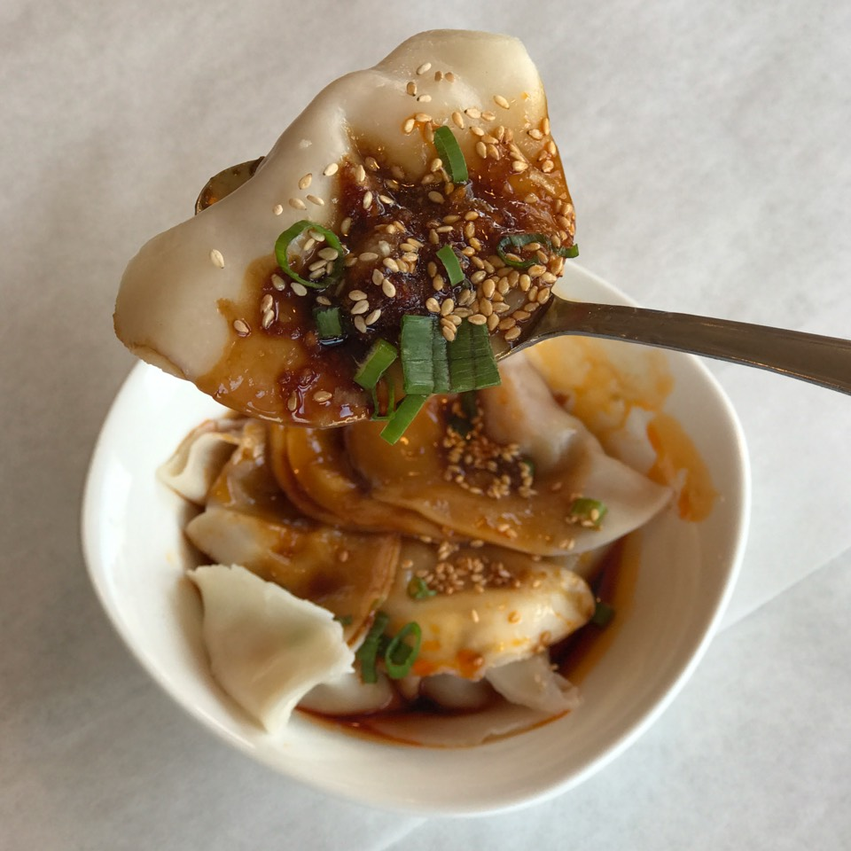 Spicy Szechuan Pork Dumpling at Legend of Taste on #foodmento http://foodmento.com/place/11175