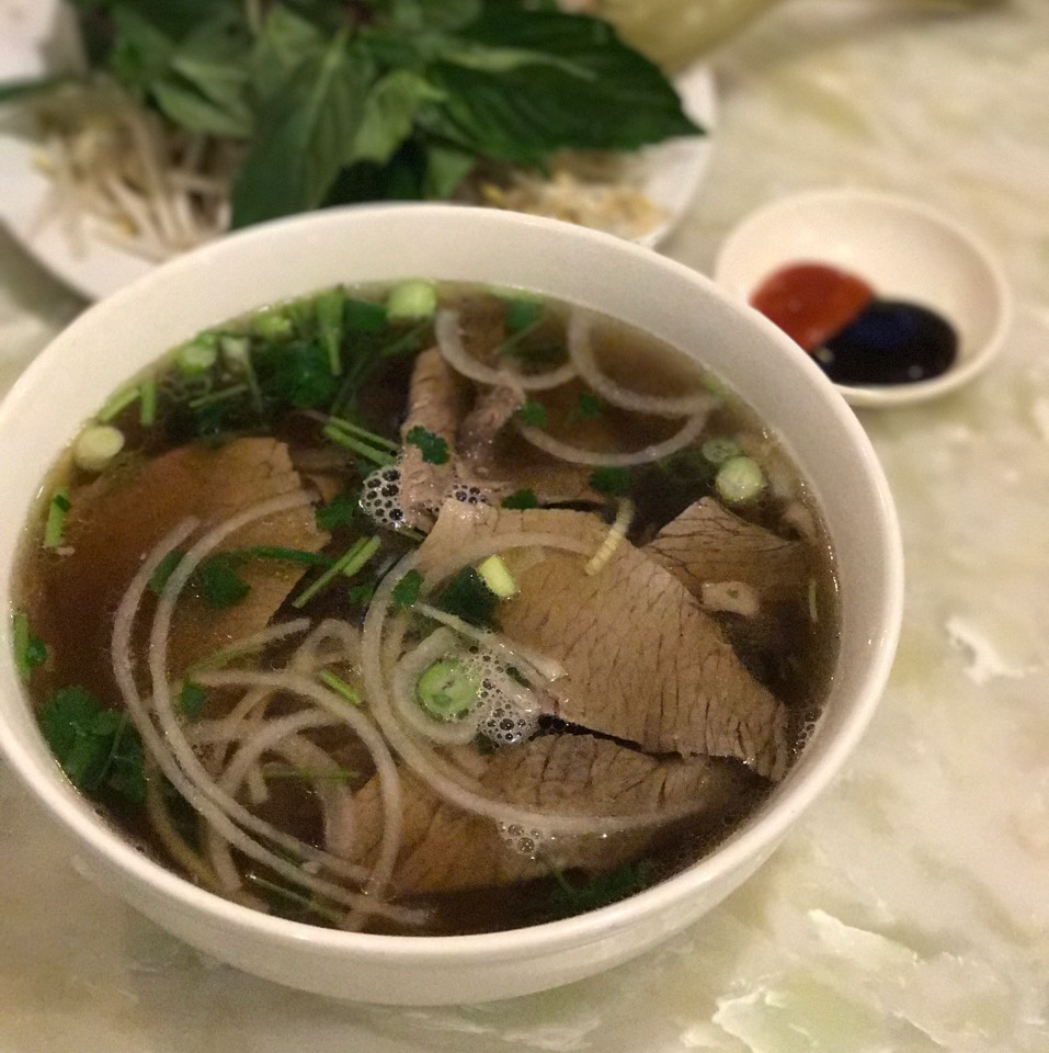 Beef Noodle Soup (Pho) With Brisket at Tank Noodle on #foodmento http://foodmento.com/place/11227