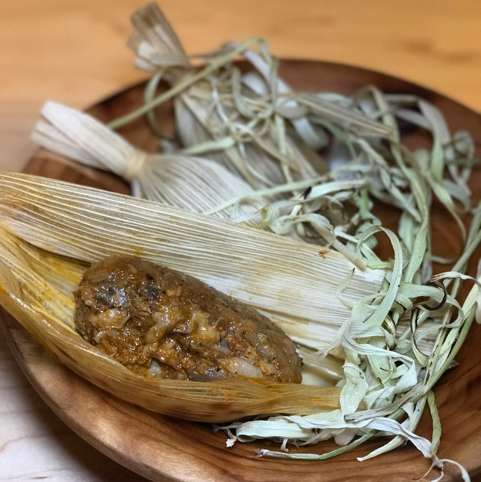 Sticky Rice Tamales, Red Chile Duck at Empellón on #foodmento http://foodmento.com/place/11260