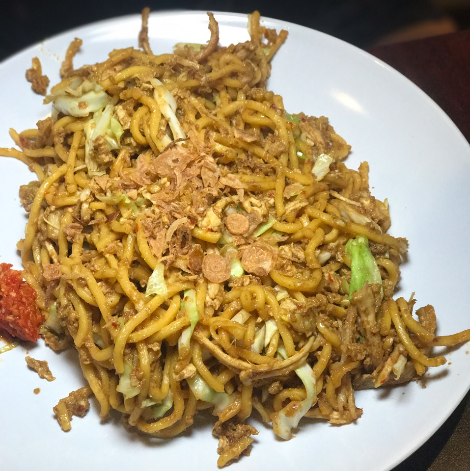 Mie Goreng Tek-tek (Fried Noodle) at Awang Kitchen on #foodmento http://foodmento.com/place/11277