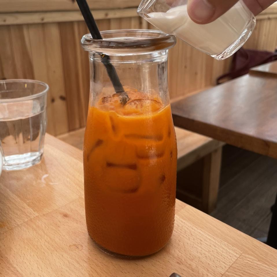 Thai Iced Tea at Thai Villa on #foodmento http://foodmento.com/place/11285