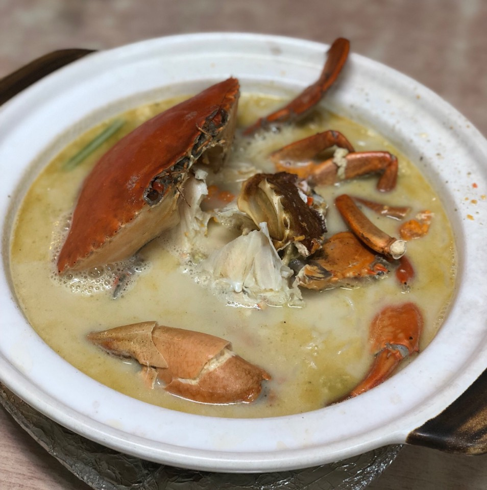 Claypot Crab Bee Hoon Soup at Mellben Legend Seafood on #foodmento http://foodmento.com/place/11494