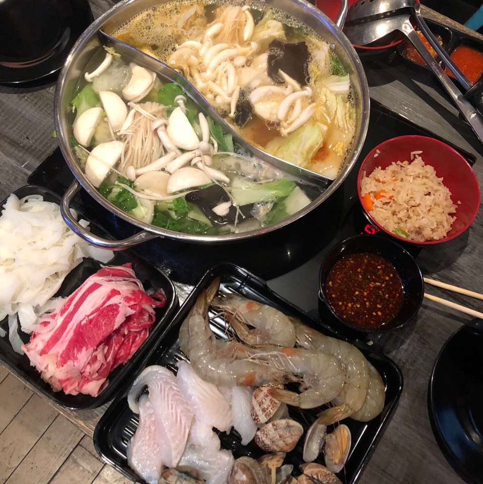 Thai Hot Pot Buffet (90 Min Limit) at Jeaw Hon on #foodmento http://foodmento.com/place/11522