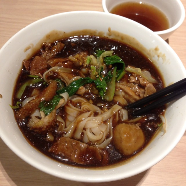 Mixed Beef Noodles (Balls, Sliced, Tripe, Chunky) at Hock Lam Beef Noodles on #foodmento http://foodmento.com/place/1153