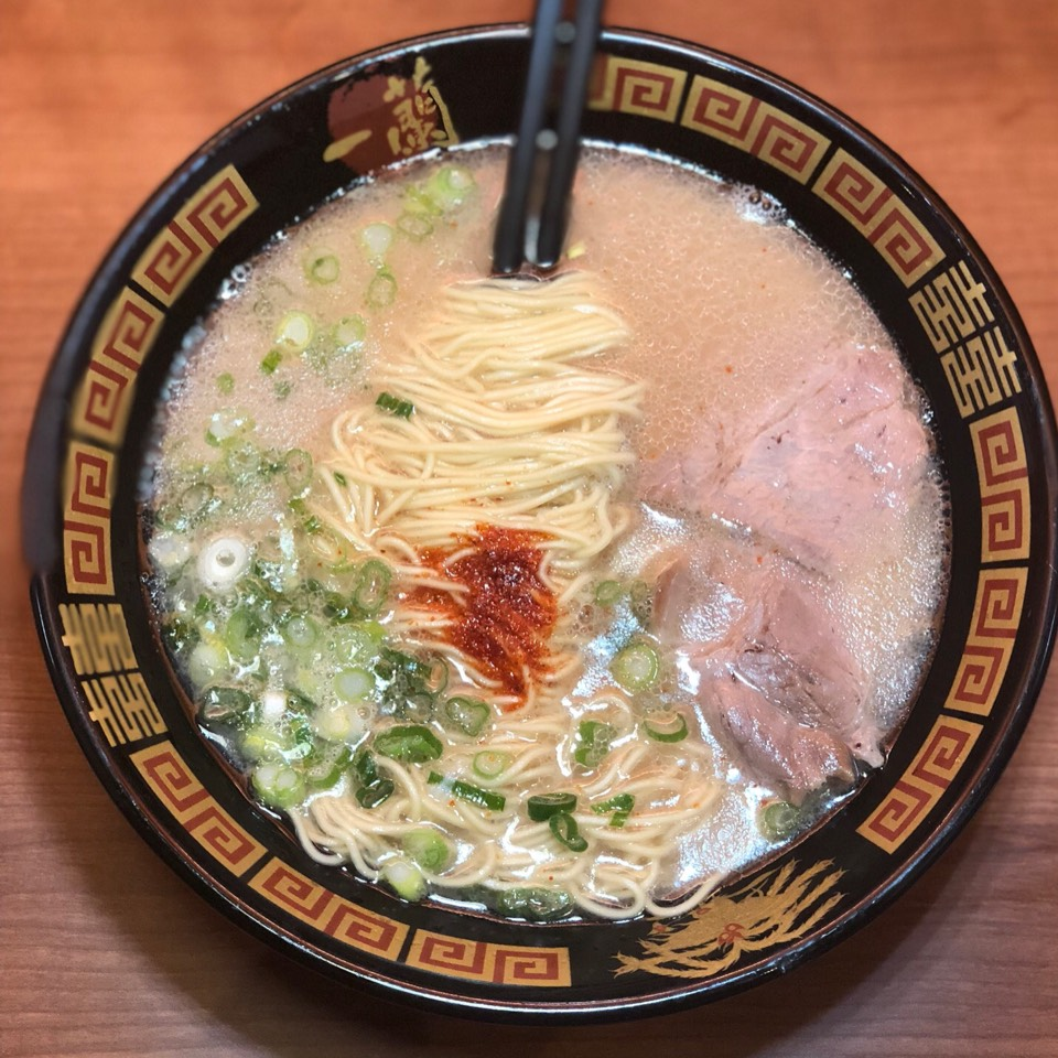 Tonkotsu Ramen (Customized) at Ichiran on #foodmento http://foodmento.com/place/11693