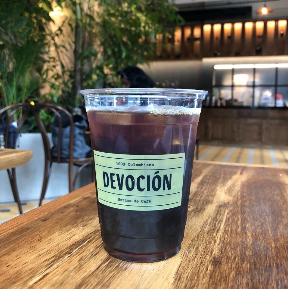 Cold Brew Iced Coffee at Devoción Café on #foodmento http://foodmento.com/place/11767