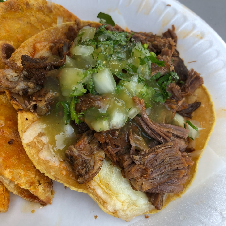 Vampiro With Birria De Chivo (Lamb) at Tacos Y Birria La Unica on #foodmento http://foodmento.com/place/11829