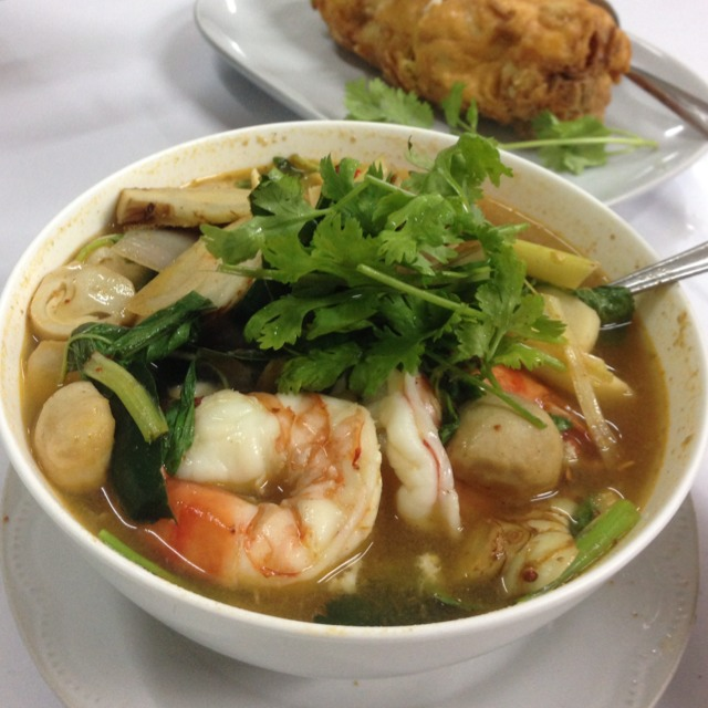 Tom Yum at เจ๊ไฝ (Jay Fai) on #foodmento http://foodmento.com/place/1215