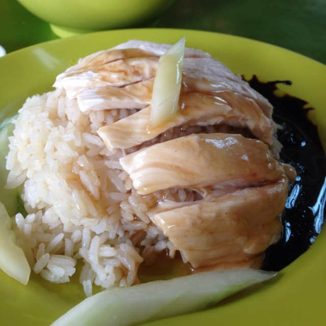 Chicken Rice @ Tian Tian Hainanese Chicken Rice #11, #12 at Maxwell Food Centre on #foodmento http://foodmento.com/place/1236