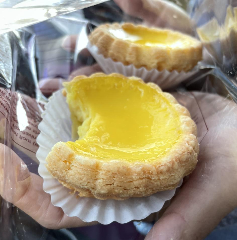 Egg Tart at Jim's Bakery 金獅餅家 on #foodmento http://foodmento.com/place/13077