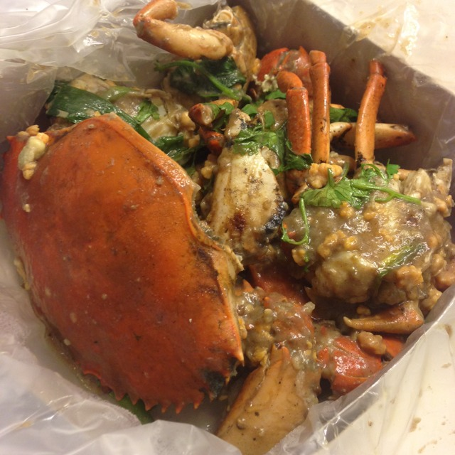 White Pepper Crab from JB Ah Meng Kitchen on #foodmento http://foodmento.com/dish/6613