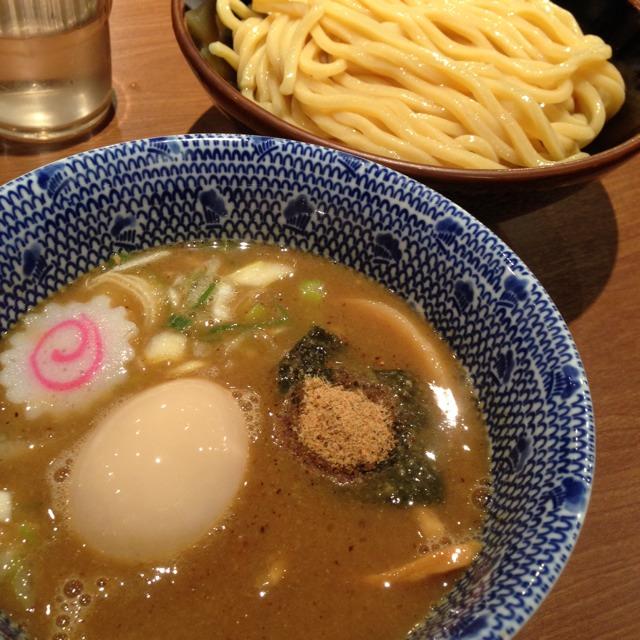 Tsukemen Ramen With Egg at 六厘舎TOKYO on #foodmento http://foodmento.com/place/1806