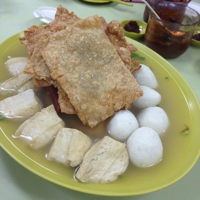 Yong Tau Foo (Variety) at Ampang Niang Tou Fu 安邦孃豆腐 on #foodmento http://foodmento.com/place/1931