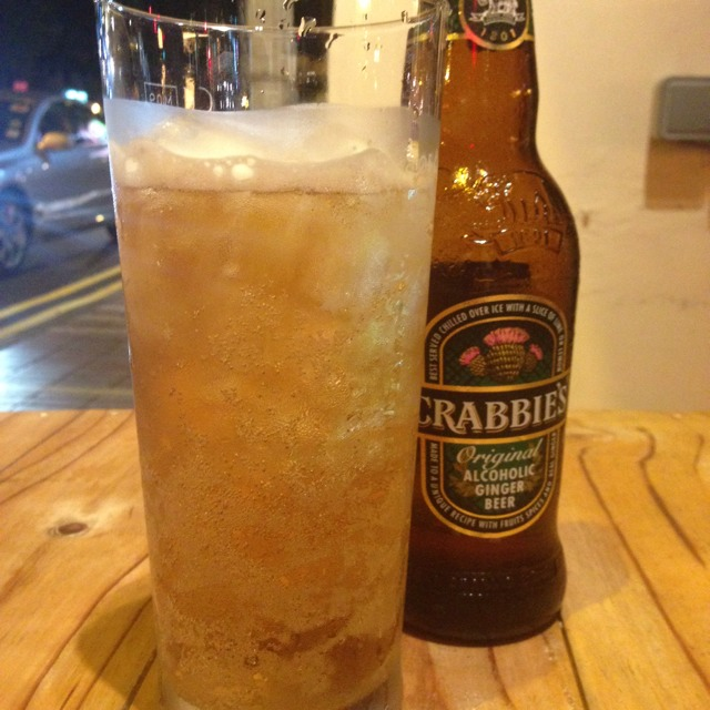 Crabbies Beer at AlibabaR The Hawker Bar on #foodmento http://foodmento.com/place/1932