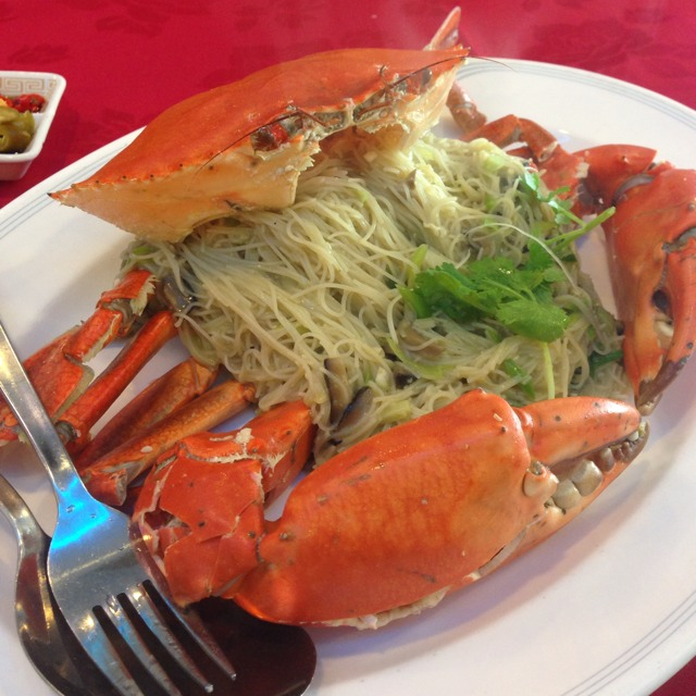 Triple Cooked Bee Hoon Crab (Vermicelli) at Ming Kee Live Seafood on #foodmento http://foodmento.com/place/210