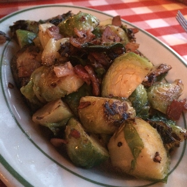 Brussels Sprouts With Smoked Bacon from P.J. Clarke's on #foodmento http://foodmento.com/dish/10004