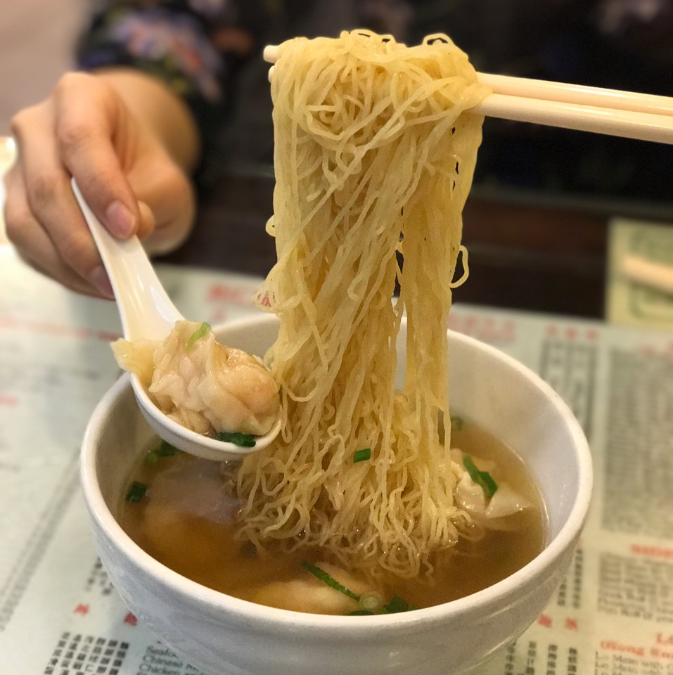 Wanton Noodle Soup at Great N.Y. Noodletown on #foodmento http://foodmento.com/place/2667