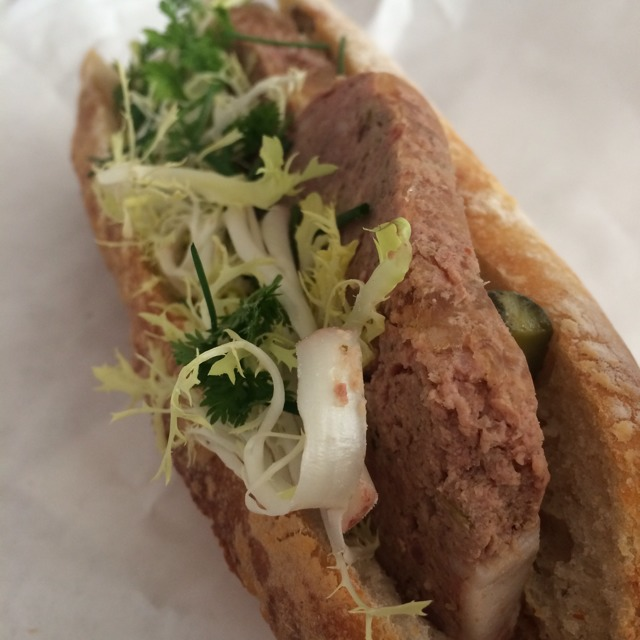Pate De Champagne Sandwich at Épicerie Boulud on #foodmento http://foodmento.com/place/2684
