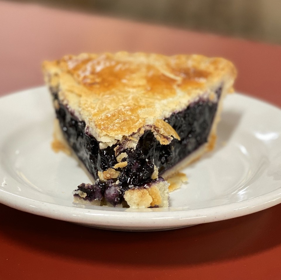 Blueberry Pie at The Original Philippe on #foodmento http://foodmento.com/place/2745