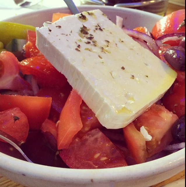 Greek Salad at Taverna Kyclades on #foodmento http://foodmento.com/place/2758