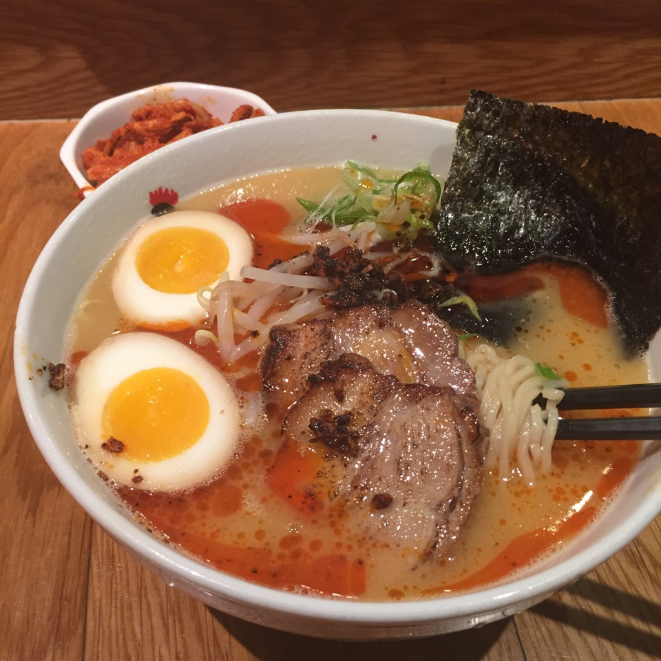 Totto Spicy Ramen at Totto Ramen 51 on #foodmento http://foodmento.com/place/2818