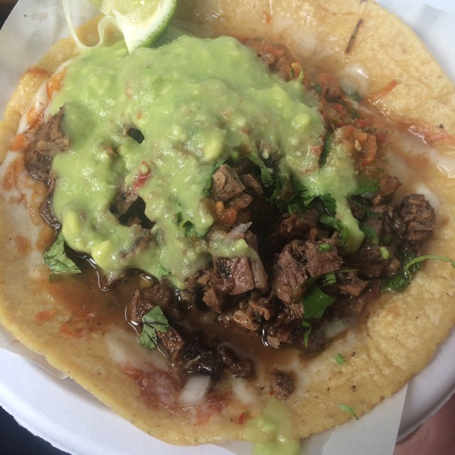 Carne Asada Quesadilla at Los Tacos No.1 on #foodmento http://foodmento.com/place/2840