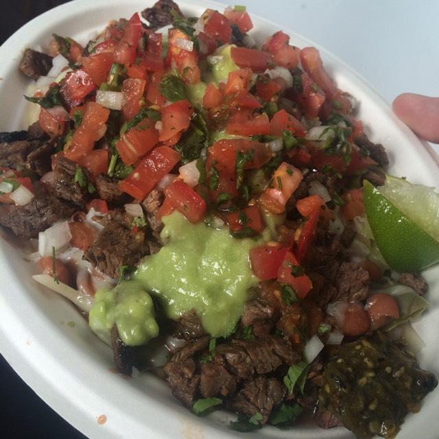 Carne Asada Plate (No Pal) at Los Tacos No.1 on #foodmento http://foodmento.com/place/2840