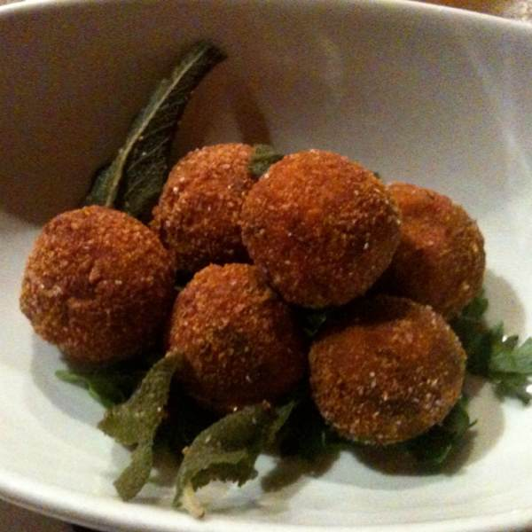 Pumpkin & Goat Cheese Croquetas at Casa Mono / Bar Jamon on #foodmento http://foodmento.com/place/289