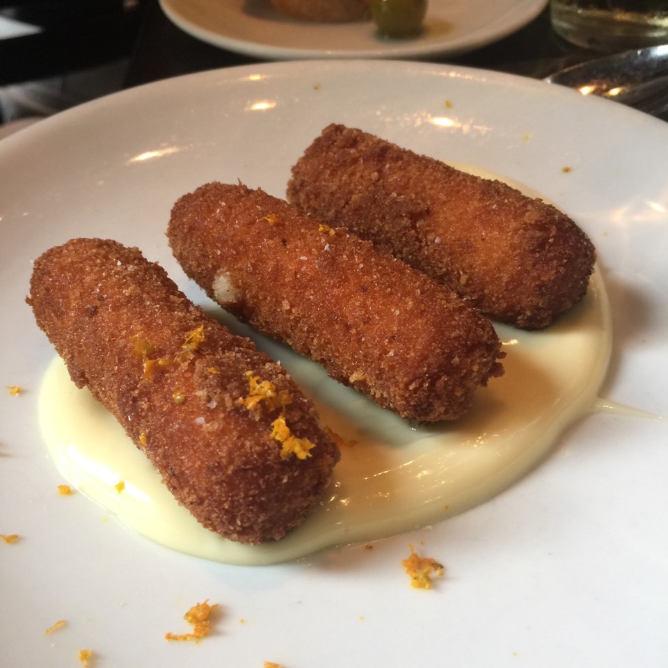 Bacalao Croquettas, Orange Aioli at Casa Mono / Bar Jamon on #foodmento http://foodmento.com/place/289