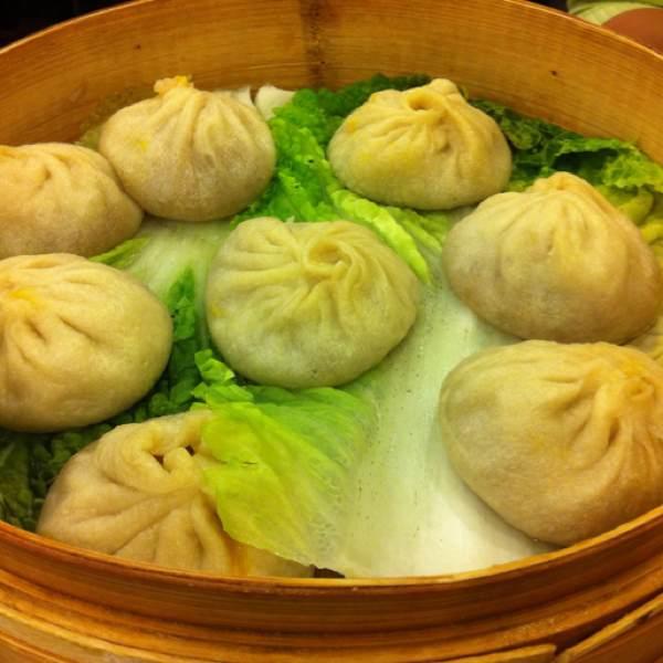Crabmeat Soup Dumplings (Xiao Long Bao) at Joe's Shanghai 鹿鸣春 on #foodmento http://foodmento.com/place/291