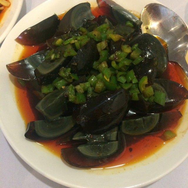 Preserved Egg, Green Pepper at Little Pepper on #foodmento http://foodmento.com/place/2931