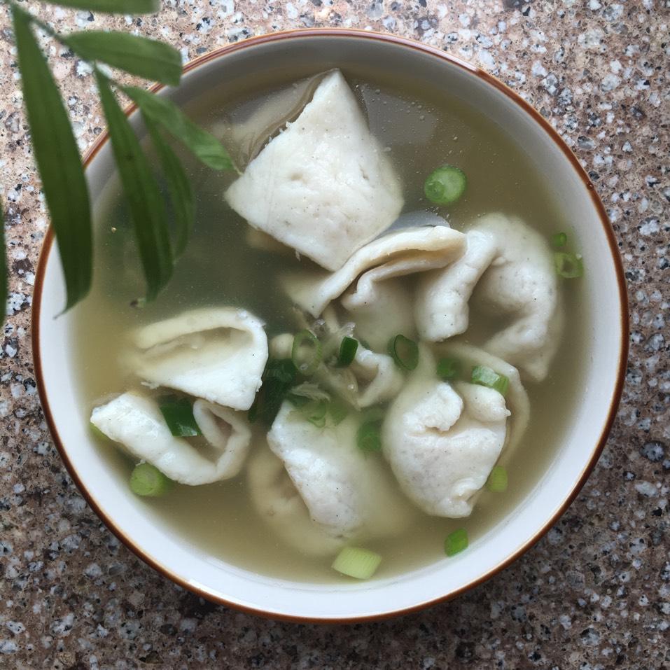 Fish Dumpling Soup at Bo Ky Restaurant on #foodmento http://foodmento.com/place/2946