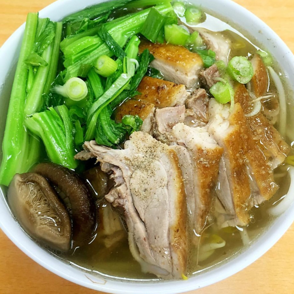 Roast Duck Noodle Soup at Bo Ky Restaurant on #foodmento http://foodmento.com/place/2946