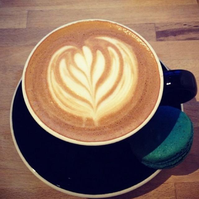 Atticus Finch Latte (Burnt Sugar Vanilla) at Voltage Coffee & Art on #foodmento http://foodmento.com/place/2961