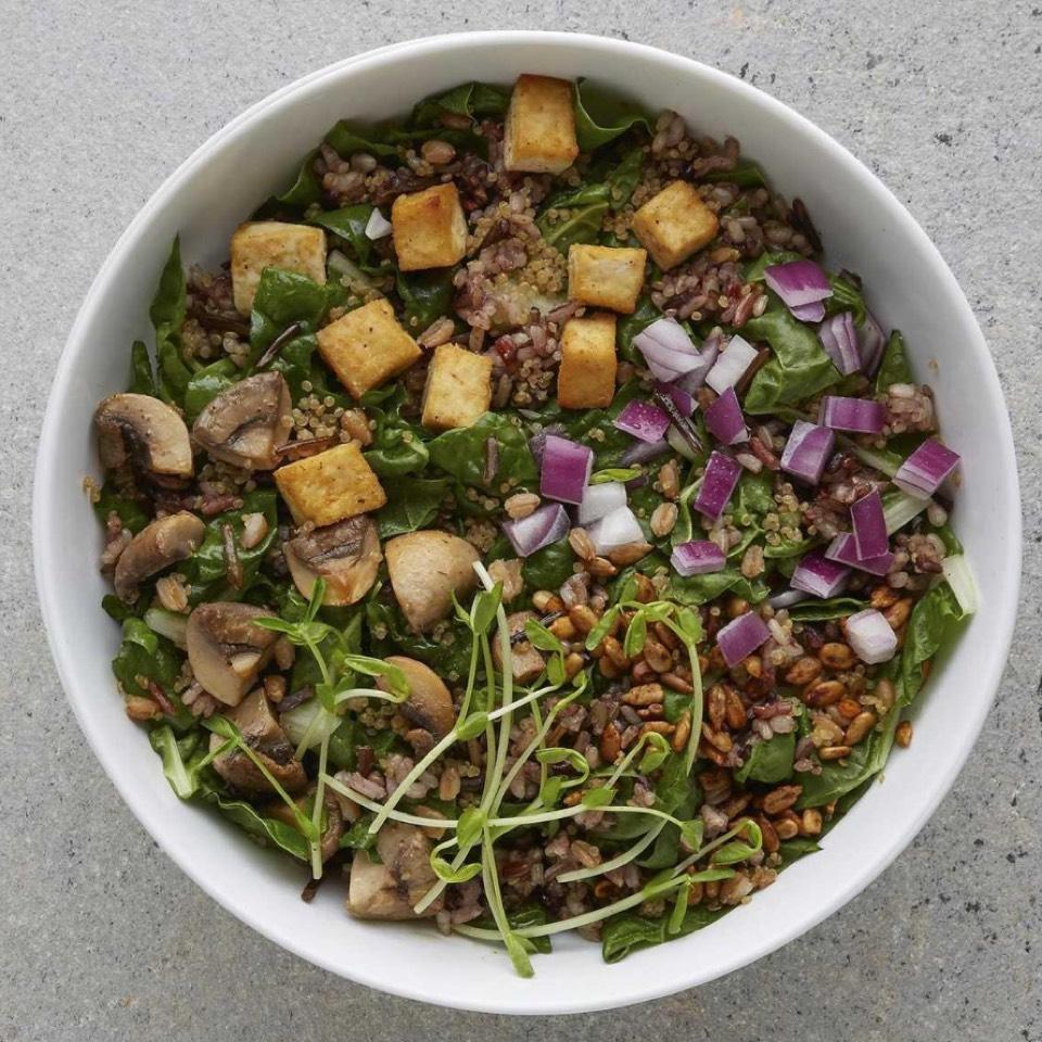 Umami Grain Bowl (Wild Rice, Quinoa, Farro, Mushrooms, Tofu, Miso Sesame Ginger Dressing...) at Sweetgreen on #foodmento http://foodmento.com/place/2979