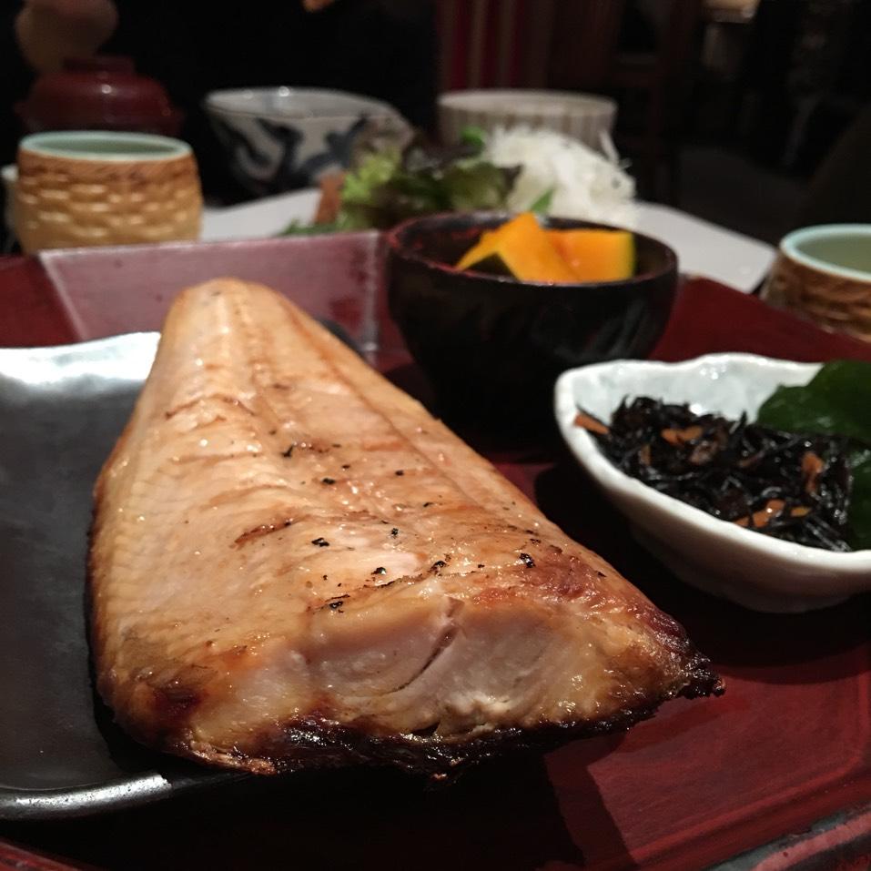 Shima Hokke (Grilled Atka Mackerel) at Ootoya on #foodmento http://foodmento.com/place/2993