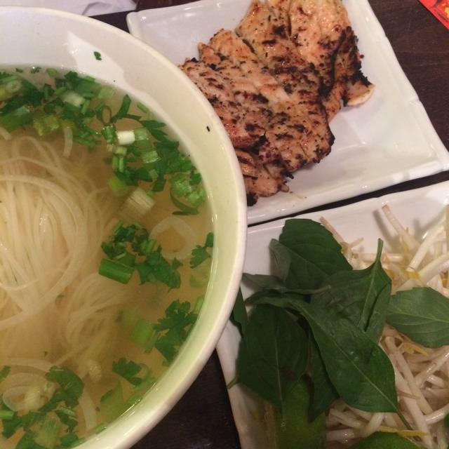 Lemongrass Chicken Pho at Saigon Shack on #foodmento http://foodmento.com/place/3012