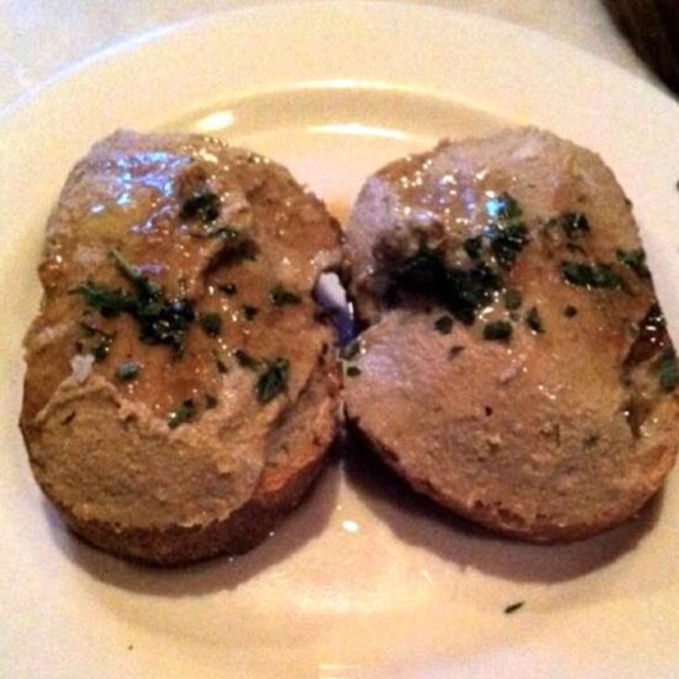 Chicken Liver Mousse w Pedro Ximenez at Tia Pol on #foodmento http://foodmento.com/place/305