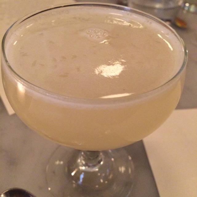 Reviver #47 Cocktail (Aquavit, Chipotle...) at Estela on #foodmento http://foodmento.com/place/3090