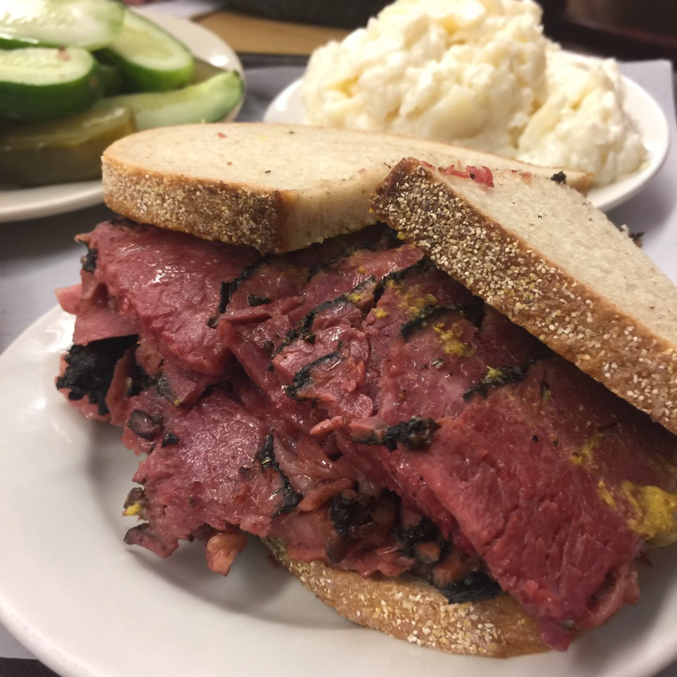 Pastrami on Rye Sandwich at Katz's Delicatessen on #foodmento http://foodmento.com/place/311