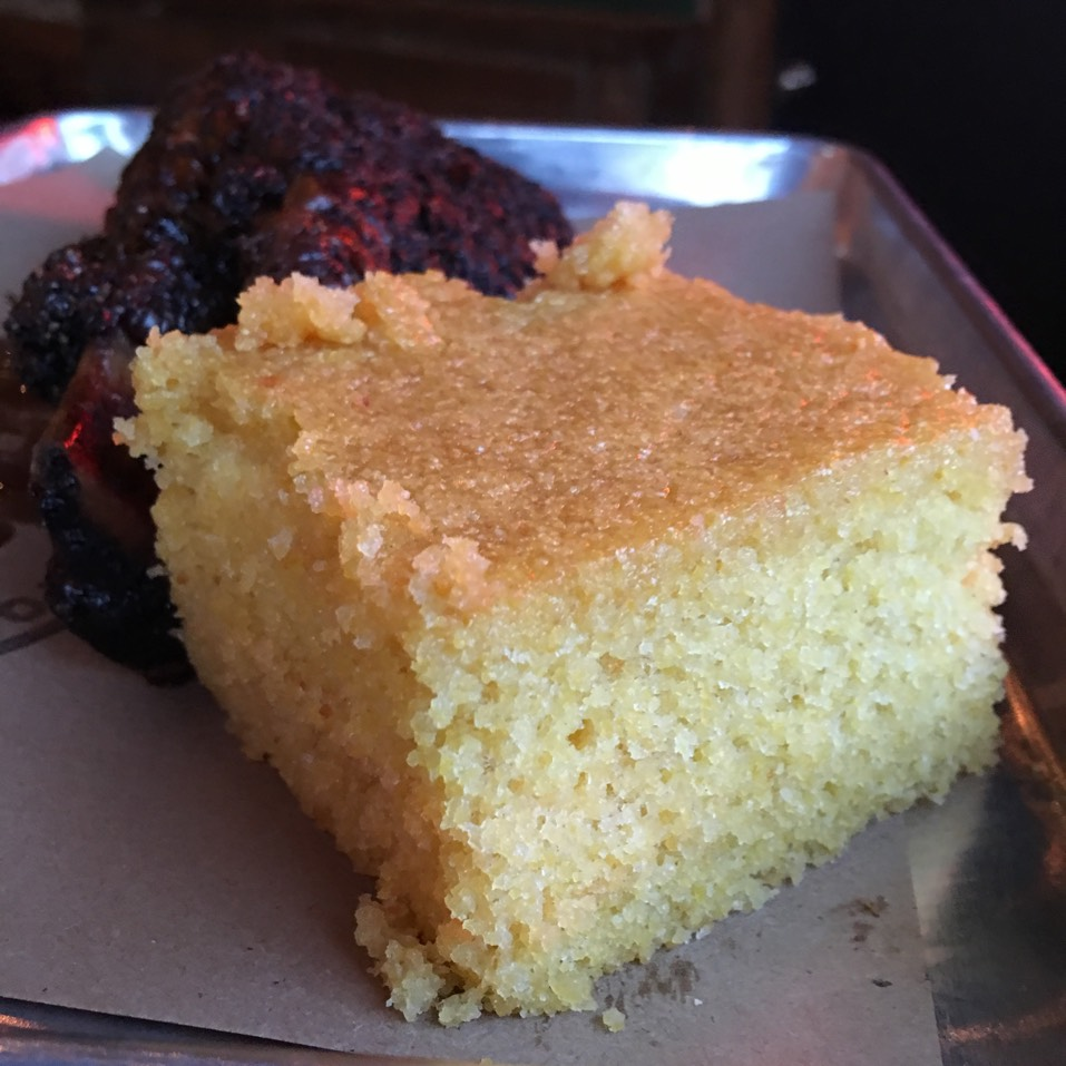 Cornbread at Hometown Bar-B-Que on #foodmento http://foodmento.com/place/3127