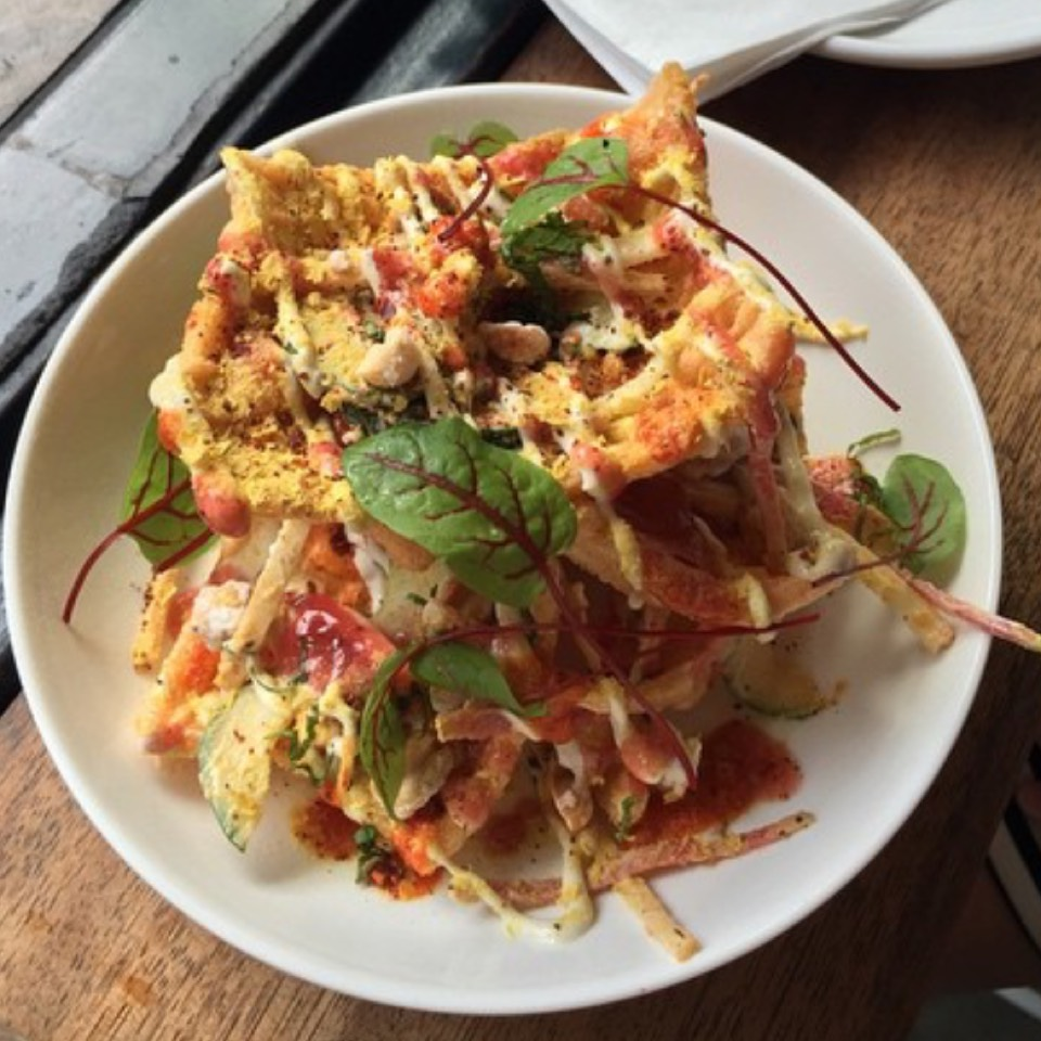 Vegan Chicharrones Locos (Dinner) at El Rey Coffee Bar & Luncheonette (CLOSED) on #foodmento http://foodmento.com/place/3136