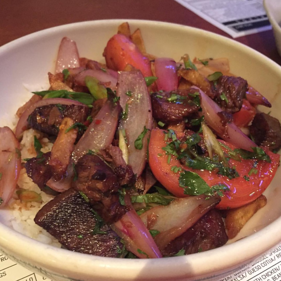 Lomo Saltado (Peruvian Stir Fry Of Beef Short Ribs) at Coppelia on #foodmento http://foodmento.com/place/3189