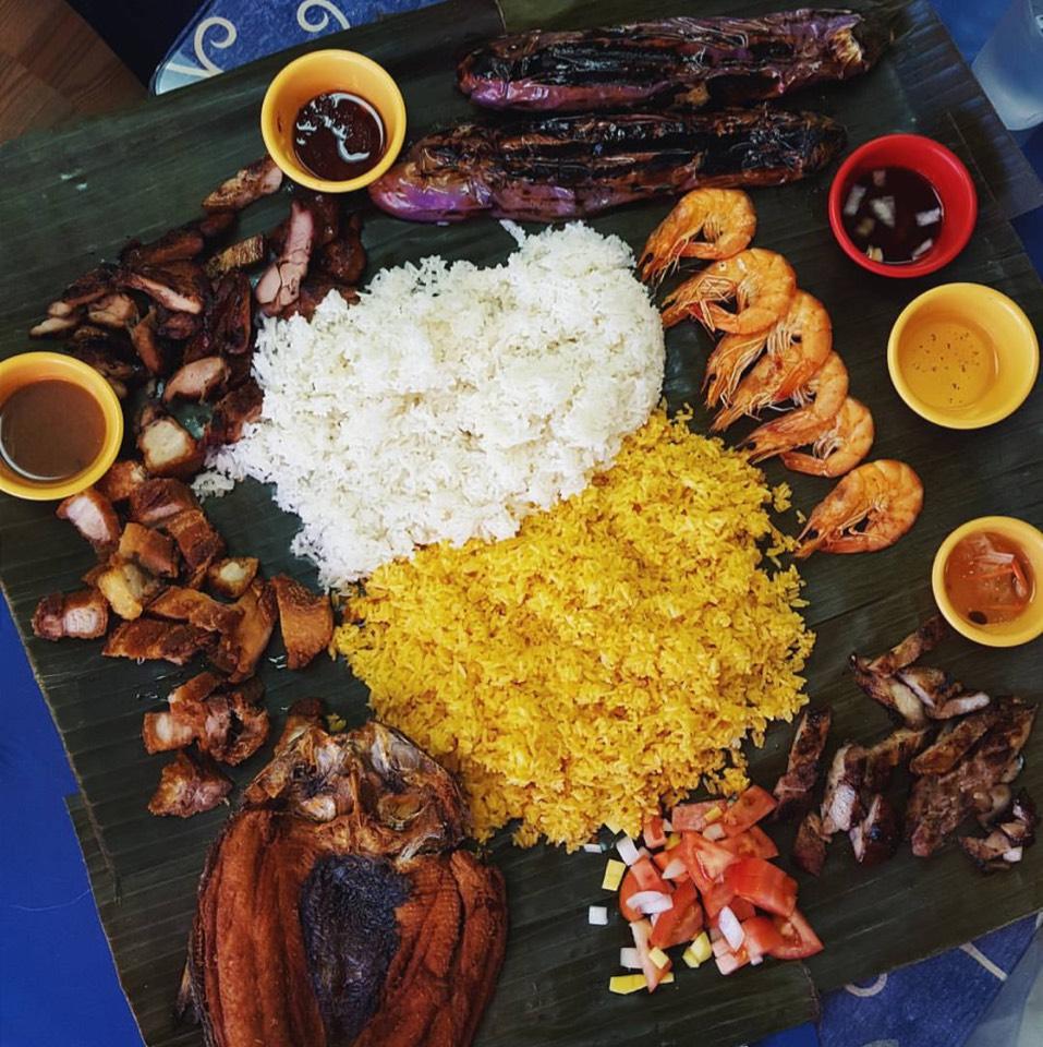 Kamayan Night Feast (Variety Of Items) at Ihawan on #foodmento http://foodmento.com/place/3199