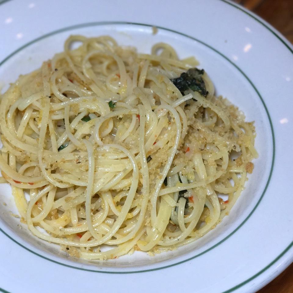 Linguini (Preserved Lemon Pickled Chili Parmigiano) on #foodmento http://foodmento.com/dish/13116