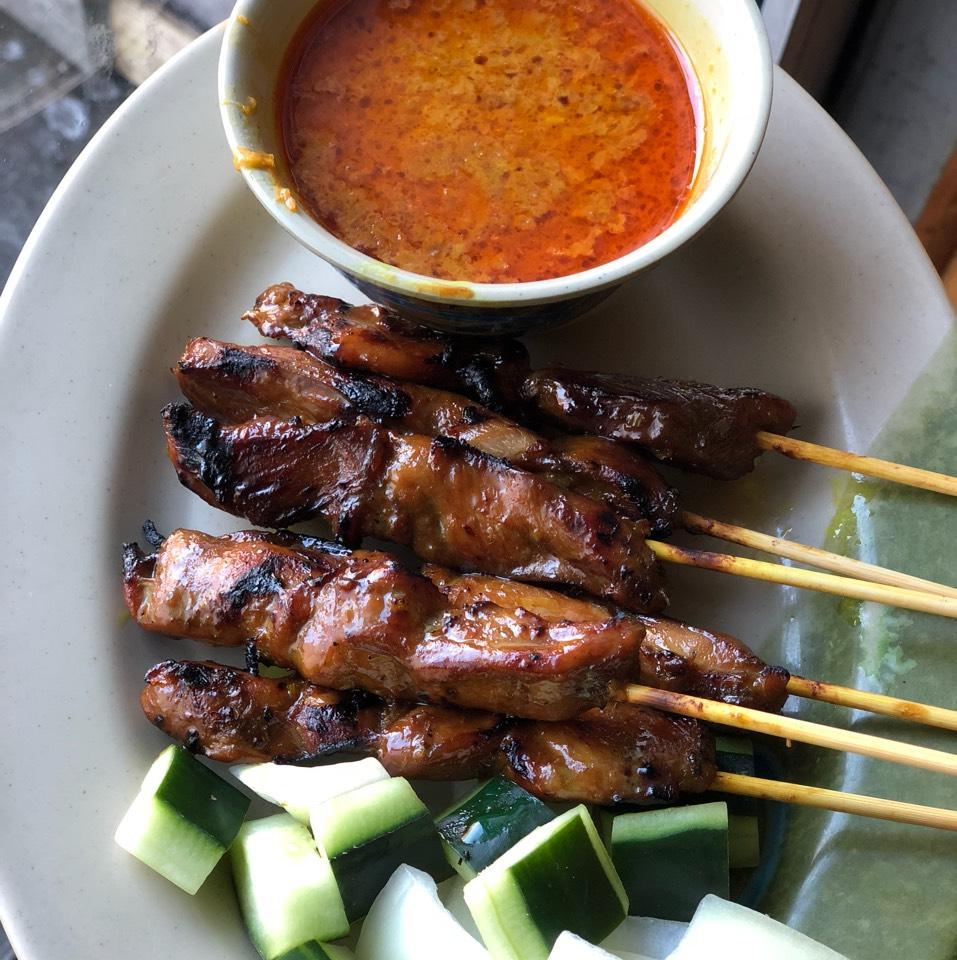 Malaysian Satay Panggang (Chicken) at Taste Good Malaysian Cuisine 好味 on #foodmento http://foodmento.com/place/337