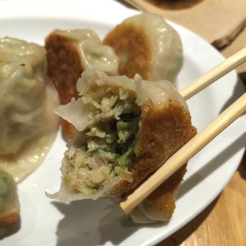 The Mimi Cheng Dumplings (Pasture-Raised Chicken, Organic Zucchini) at Mimi Cheng's on #foodmento http://foodmento.com/place/3389