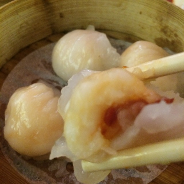 Shrimp Dumplings (Har Gao) at Dim Sum Go Go on #foodmento http://foodmento.com/place/3452